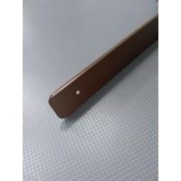 Торцова планка для стільниці LUXEFORM ліва колір RAL8014